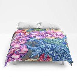 Orchid Splash Comforters