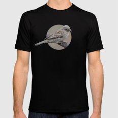 Pilanesberg Bird 01 Mens Fitted Tee Black SMALL