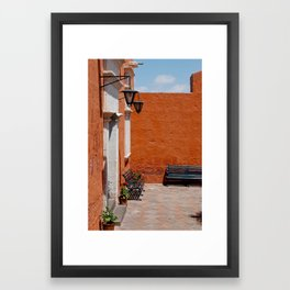 santa catalina p.2 Framed Art Print