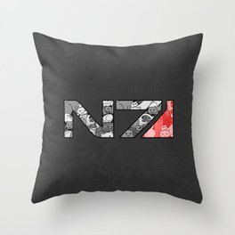 """My Favorite Things"" N7 Throw Pillow"