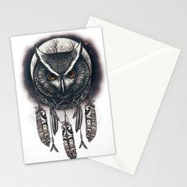 Dreamcatcher Owl Stationery Cards