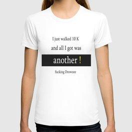Ten K walk T-shirt