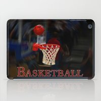 basketball iPad Cases featuring Basketball by LoRo  Art & Pictures