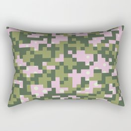 Camo pixel Rectangular Pillow