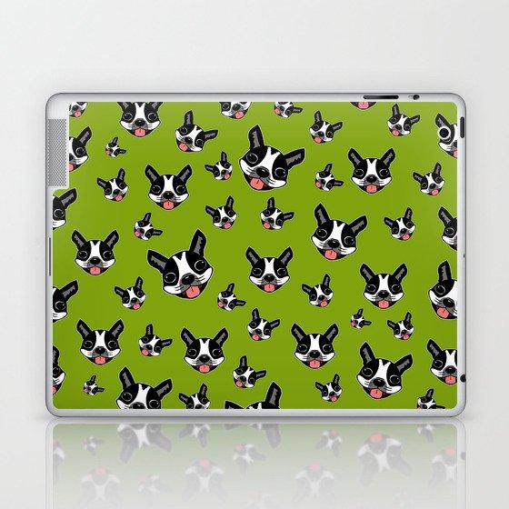 Milo The Boston Terrier #2 Laptop & iPad Skin