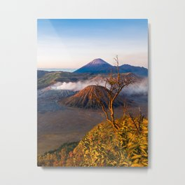 Mt Bromo Volcano, Java, Indonesia Metal Print