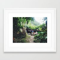 peru Framed Art Prints featuring peru by joram nathanael