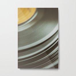 The Vinyl Frontier Metal Print