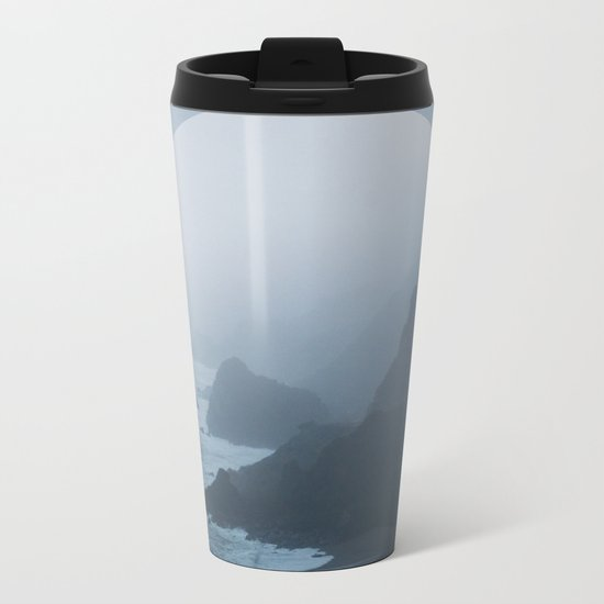 B+W New Zealand Coast II Metal Travel Mug