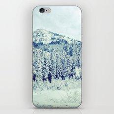 Snowy Mountain iPhone Skin