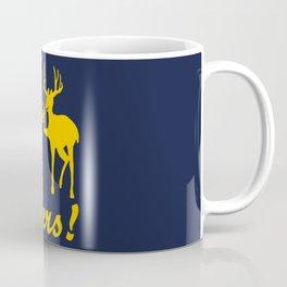 Funny bear, deer, beer, & cheers Coffee Mug