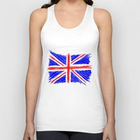 flag Tank Tops featuring Flag by Svetlana Sewell