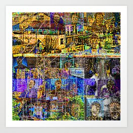 In A Cluttered Hell Art Print