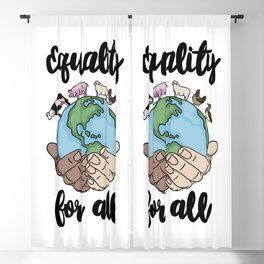Equality For All! Blackout Curtain