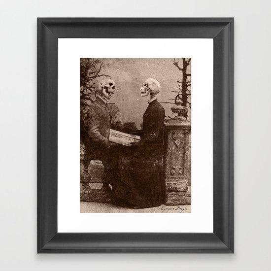 Dark Victorian Portraits: The Last Date Framed Art Print