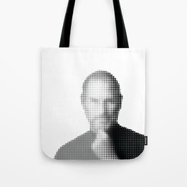 Jobs Abstract Portrait Tote Bag