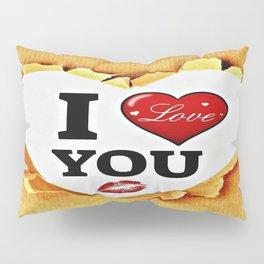 I love you paper Pillow Sham