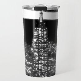 1930 New York City by night Travel Mug
