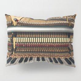 Piano inside Pillow Sham