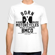 Born X Mens Fitted Tee White SMALL