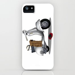 Vespa GS & Casual Stuffs iPhone Case