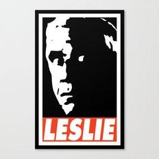 LESLIE Canvas Print