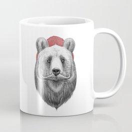 bearded bear Coffee Mug
