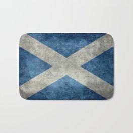 Flag of Scotland, Vintage Retro Style Bath Mat