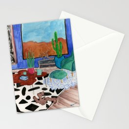 Mid Century Desert Home Stationery Cards