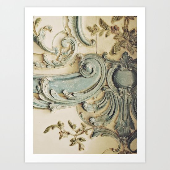 Blue Lace of Versailles by happeemonkee