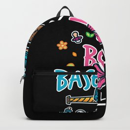 Baseball Or Bow - Gift Backpack
