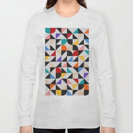 Abstract Composition 647 Long Sleeve T-shirt
