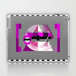 Waiting for the show to begin (Test Pattern 5) Laptop & iPad Skin
