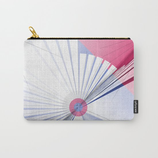 Pattern colors 2016 rose quarz and serenity blue Version 5 Carry-All Pouch