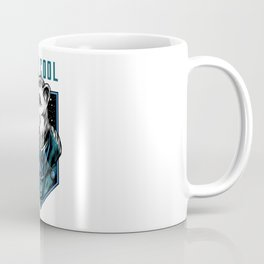 Polar bear ice bear with sunglasses stay cool Coffee Mug