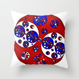 Circle Splendor 16.1 Throw Pillow