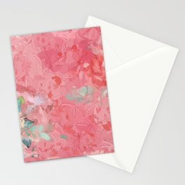 Painted Roses Stationery Cards