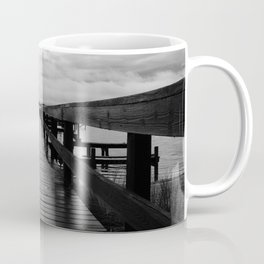 Rainy Dock Coffee Mug