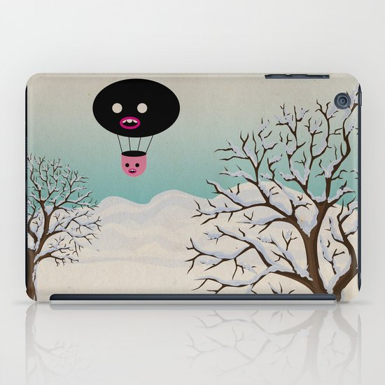 b r r r iPad Case