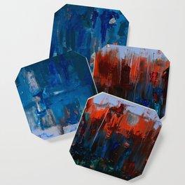 Blue and Orange Coaster