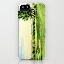 Carnoustie Golf Course Scotland 13th Green iPhone Case