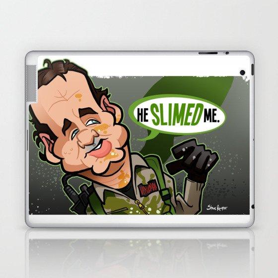 He Slimed Me Laptop & iPad Skin