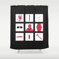 drive Shower Curtains featuring Drive by Michael Fisher