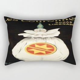 Vintage poster - Les Couronnes Rectangular Pillow