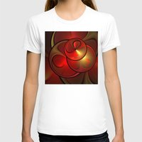 shining T-shirts featuring Shining Fractal by gabiw Art
