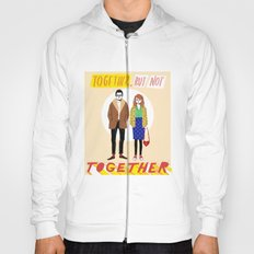 Together but not together Hoody