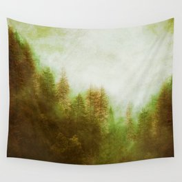Dreamy Summer Forest Wall Tapestry