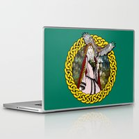 goddess Laptop & iPad Skins featuring Goddess by Astrablink7