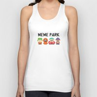 meme Tank Tops featuring Meme Park by Milan Harangozó