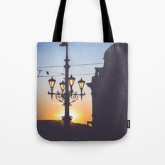 Freedom bridge - summer sunset II. Tote Bag